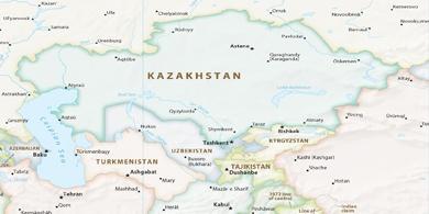 Local time Almaty Kazakhstan
