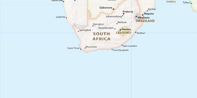 Local Time Maseru Lesotho - maseru map
