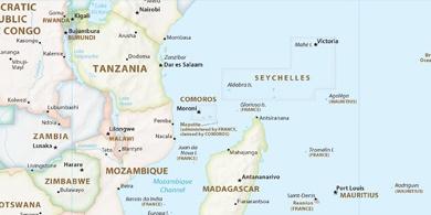 Local time Mahajanga Madagascar