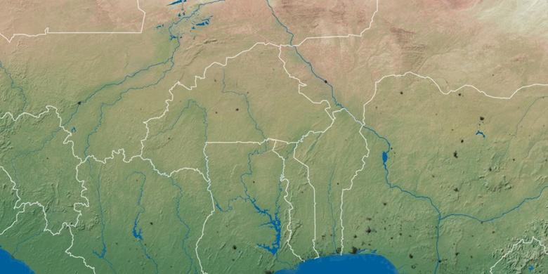 BoboDioulasso on map