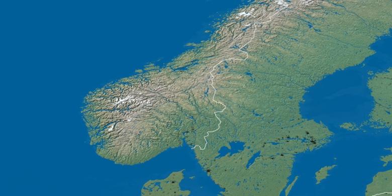Karlskoga On Map - Karlskoga sweden map