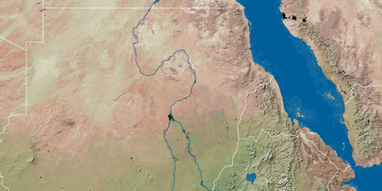 Omdurman on map