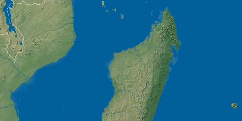 Nacala on map