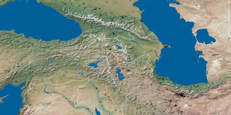Rustavi on map