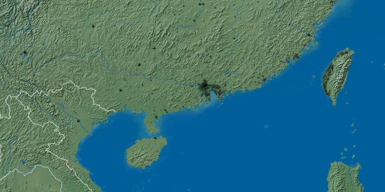 Zhaoqing On Map - Zhaoqing map