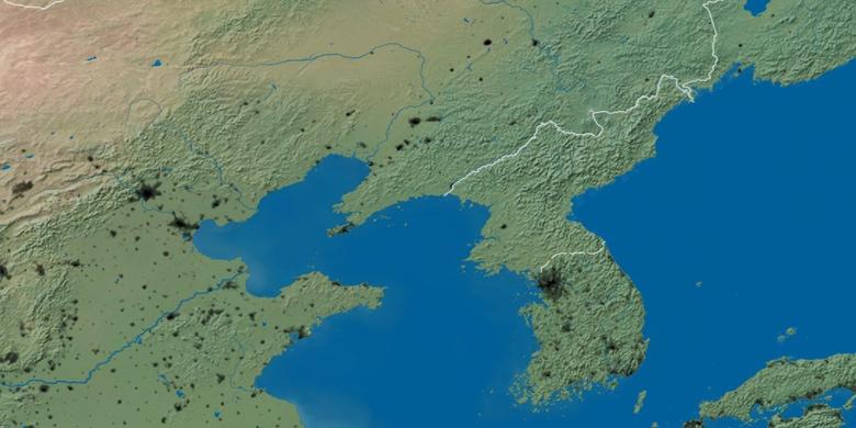 Hamhung on map