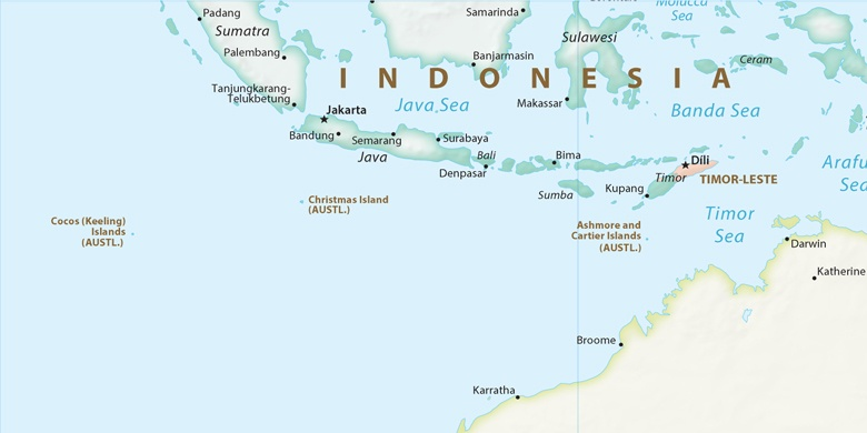 Tasikmalaya on map