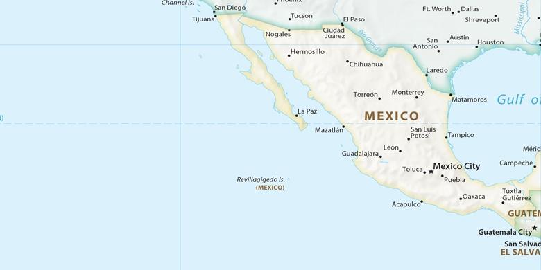 Zapopan on map
