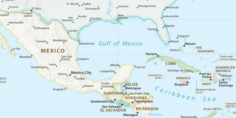 Belmopan On Map - Belize map belmopan
