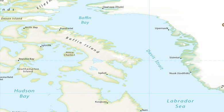 Frobisher Bay on map
