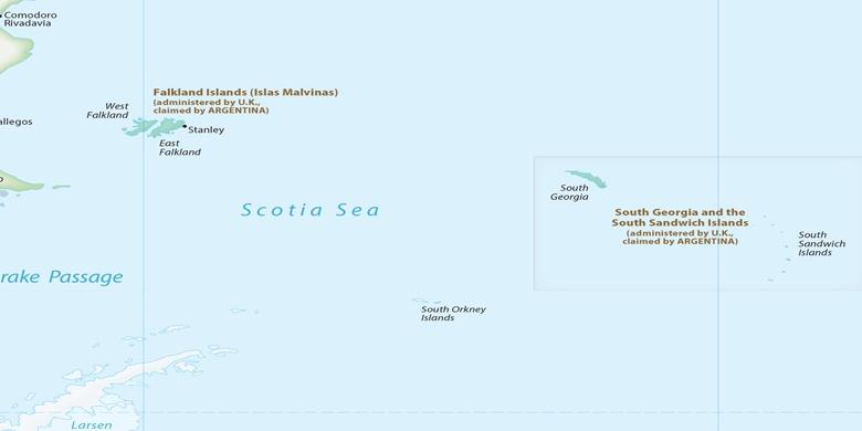 Grytviken on map